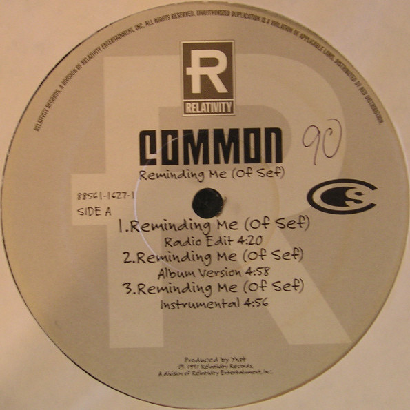 Common Reminding Me Of Sef Used Vinyl High