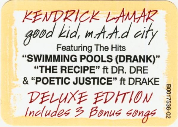 Kendrick Lamar Good Kid M A A D City New Vinyl High Fidelity Vinyl Records And Hi Fi