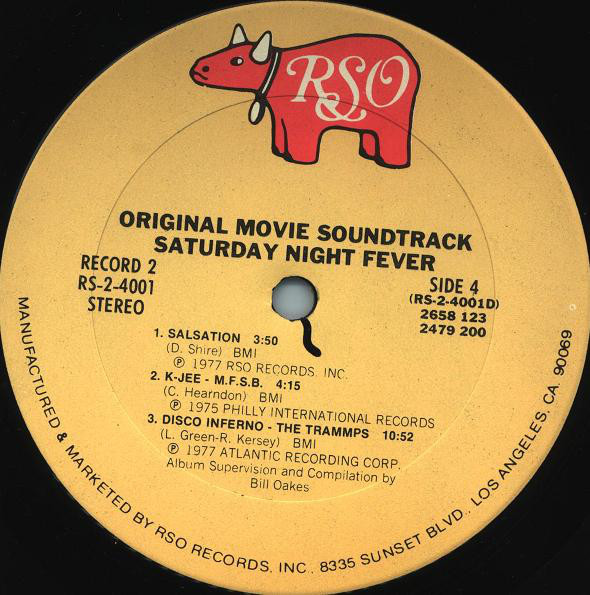 Various - Saturday Night Fever (The Original Movie Sound ...